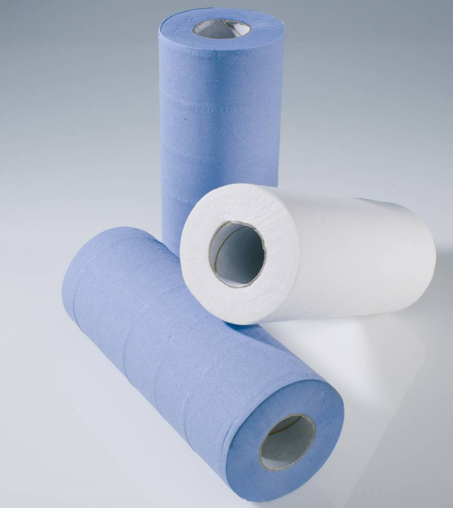 "10"" White 2 ply Medical Roll - Pure"