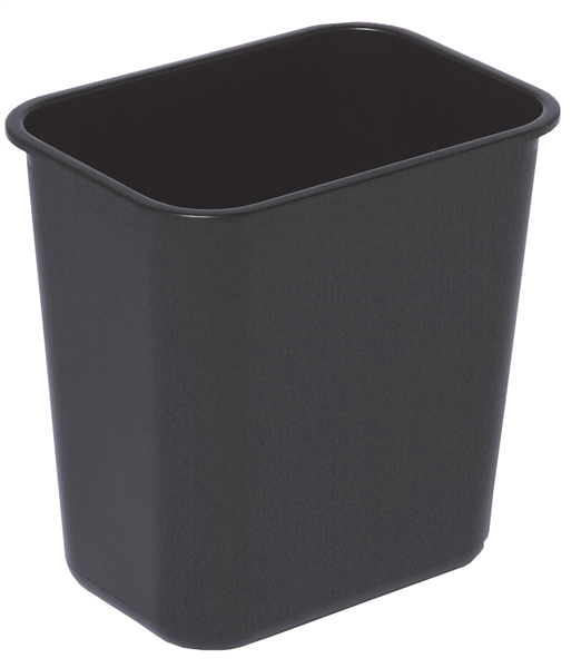 12L Rectangular plastic waste basket