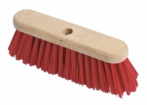 "13"" Red PVC brush"