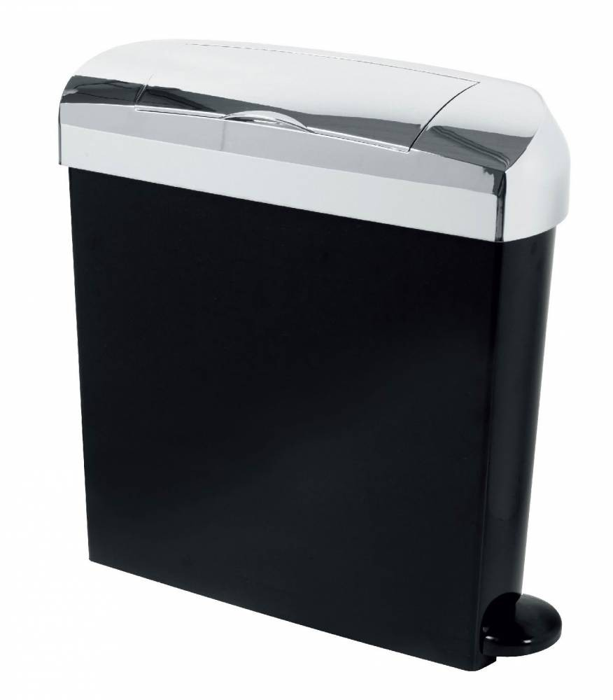 23 Litre Bright Chrome Sanitary Bin Sanitary Bins From