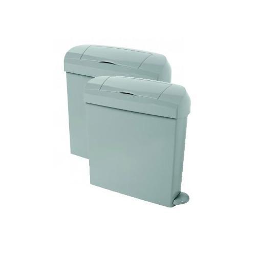 23 Litre Grey Sanitary Bin