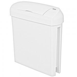23 Litre White Sanitary Bin