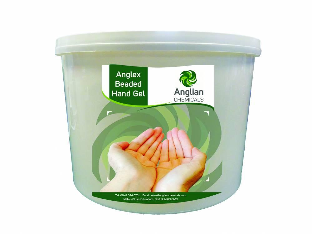 Anglex Beaded Hand Gel - 15 Litre