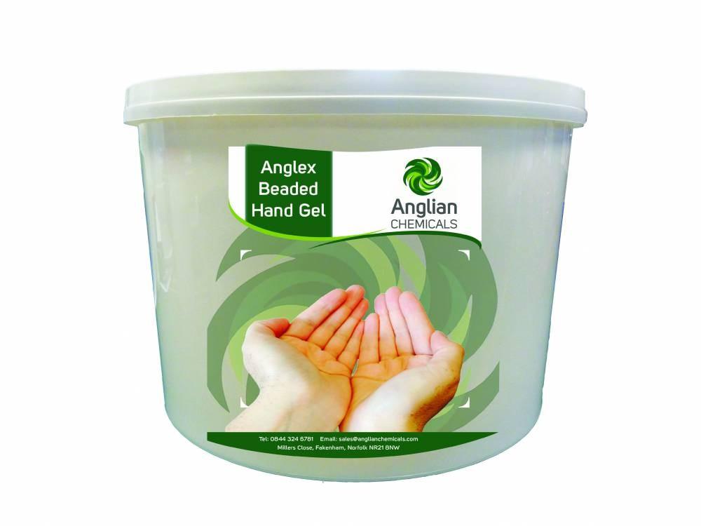 Anglex Beaded Hand Gel - 15 Litre