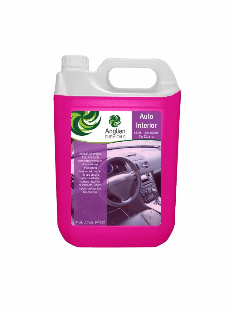 auto interior cleaner vehicle cleaning from anglian chemicals. Black Bedroom Furniture Sets. Home Design Ideas