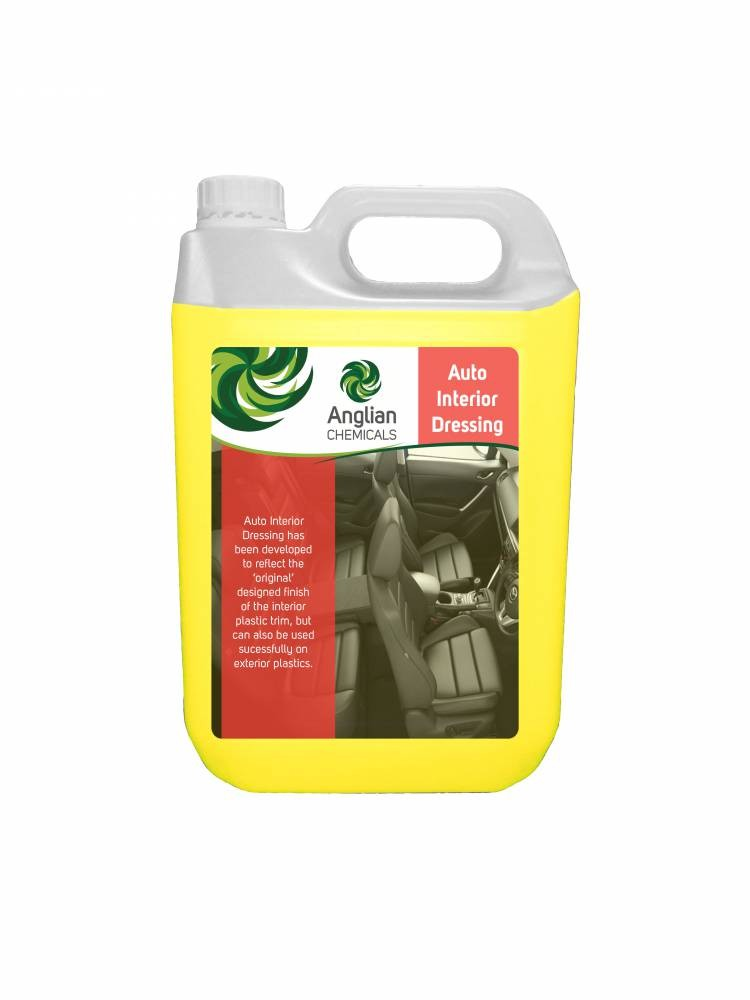 auto interior dressing vehicle cleaning from anglian chemicals. Black Bedroom Furniture Sets. Home Design Ideas