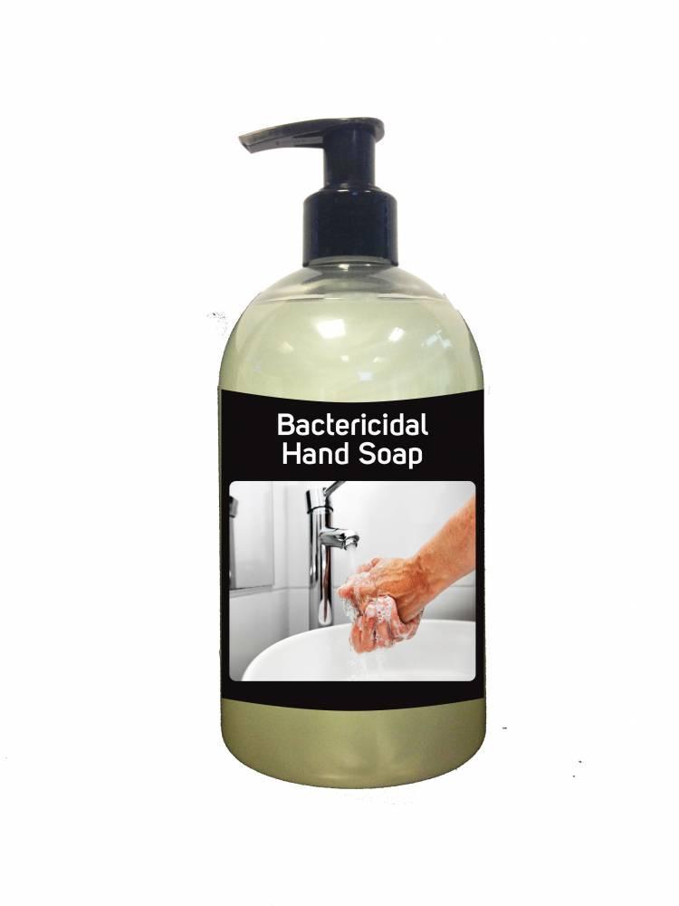 Bactericidal Hand Soap - 500ml Pump
