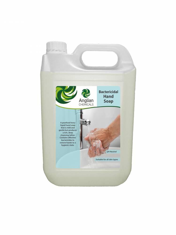 Bactericidal Hand Soap Kills 99.9% Bacteria - 5 Litre