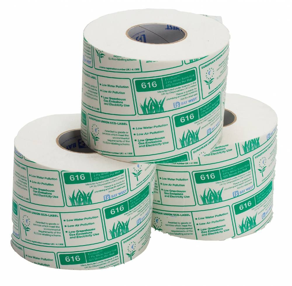 Bay West 2 Ply Toilet Tissue