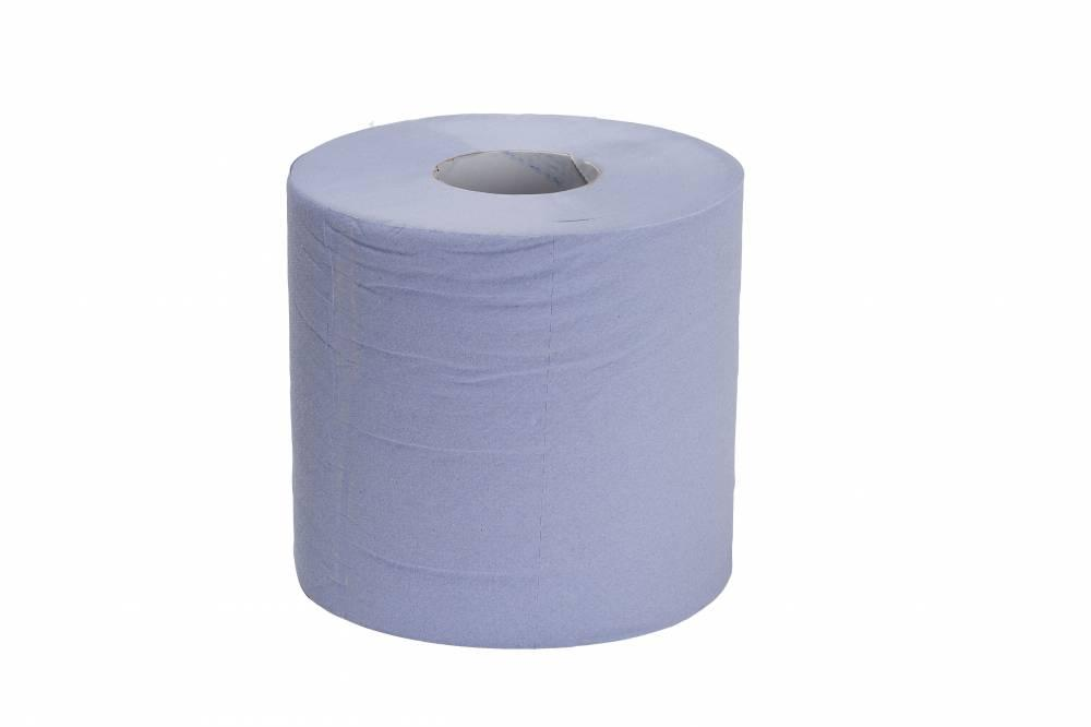 Blue 2 Ply Centre Feed - Recycled