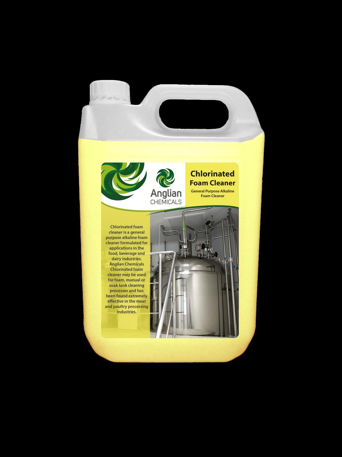 Chlorinated Foam Cleaner