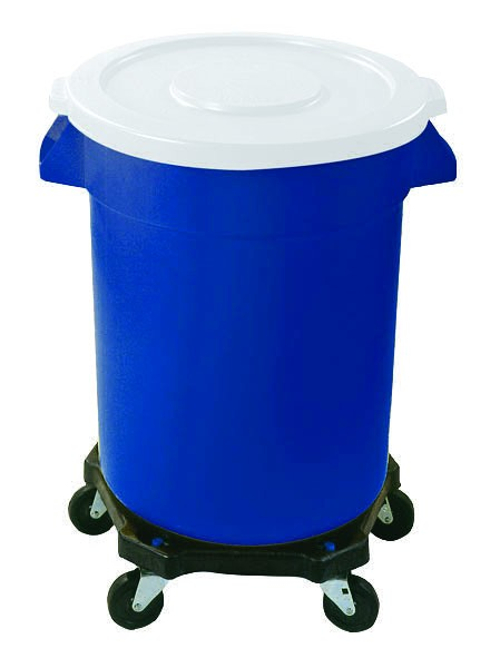 Coloured 75 Litre wheeled bin container