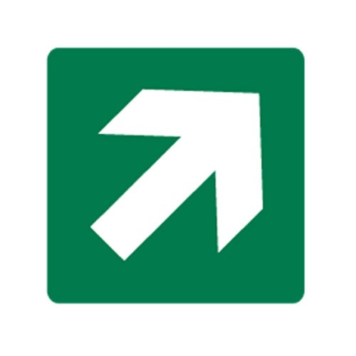 Directional Arrow PPE Sign
