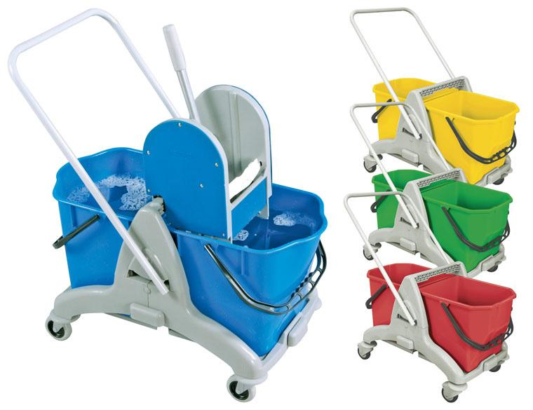 Double Bucket Mopping System