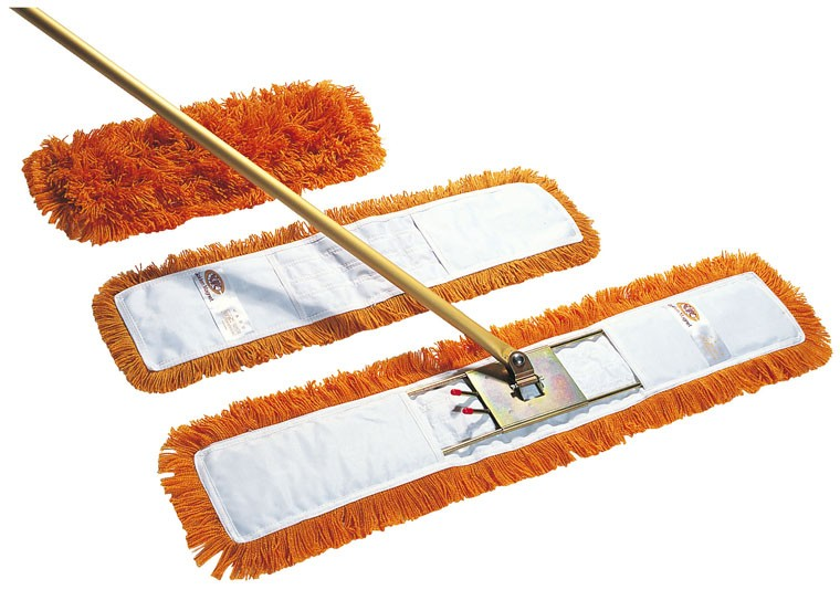 Dust beater mop & wooden handle