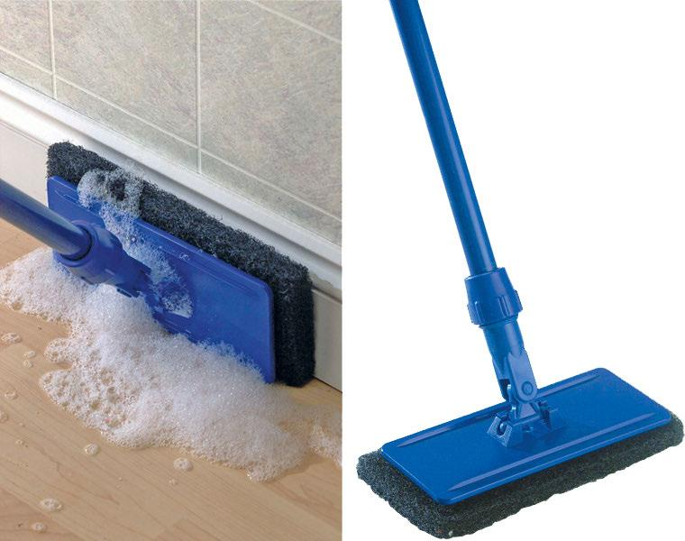 Edge & Floor Cleaning Tool