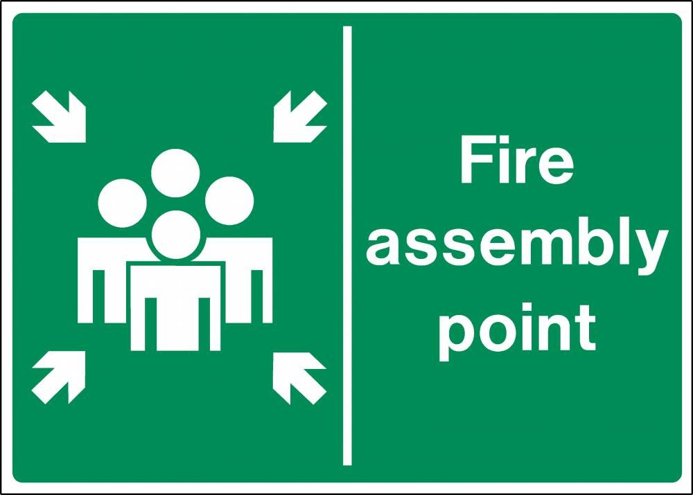 Fire Assembly PPE Sign