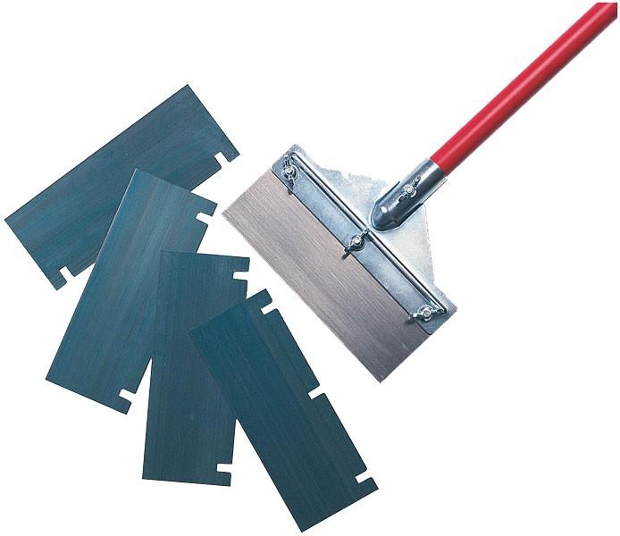 Floor scraper & handle