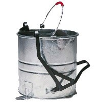 Galvanised Roller Bucket