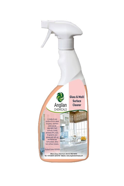 Glass Amp Multi Surface Cleaner Glass Cleaner From Anglian