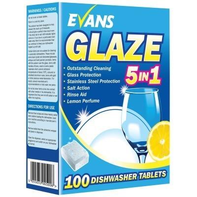 Glaze 5 in 1 Dishwash Tablets