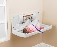 Horizontal Baby Changing Unit