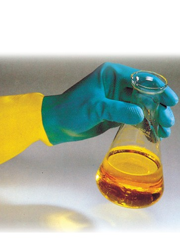 Industrial Rubber and Chloroprene Gloves