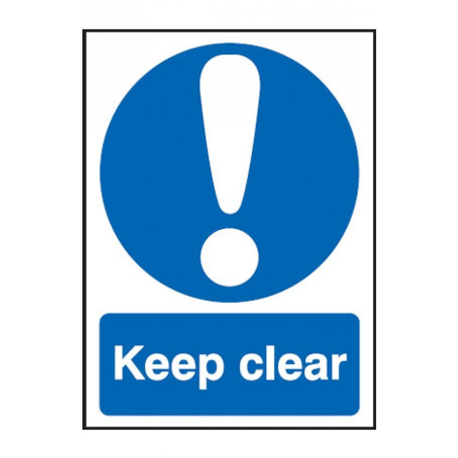 keep clear ppe sign  exit safety signs from anglian chemicals window cleaning logo design window cleaning logos images