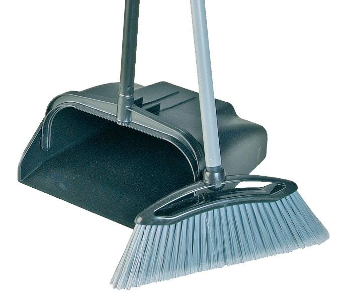 Long handle lobby dustpan