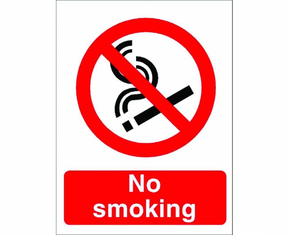 No Smoking Ppe Sign Safety Sign From Anglian Chemicals