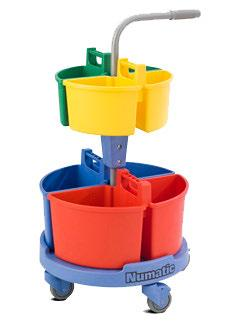 Numatic NC4 -  Lift Off Caddy Carousel