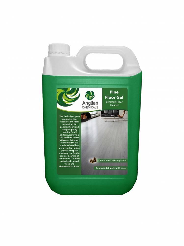 Pine Floor Gel Floor Cleaner From Anglian Chemicals