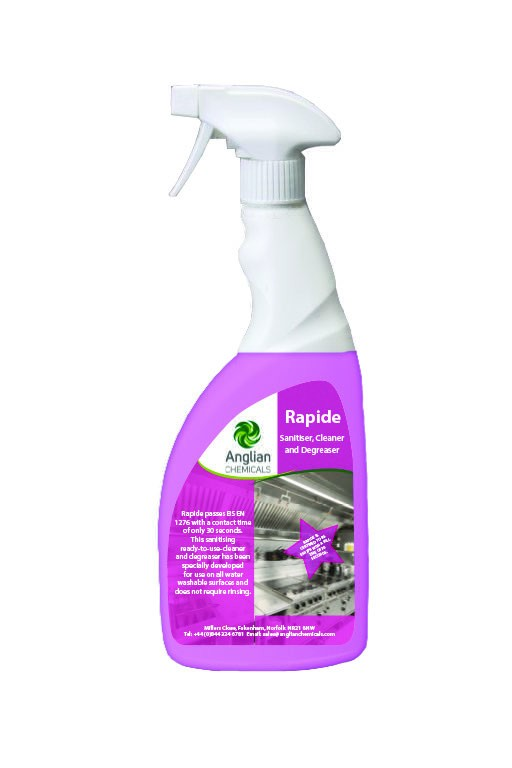 Rapide - 24 day anti-microbial surface sanitiser.
