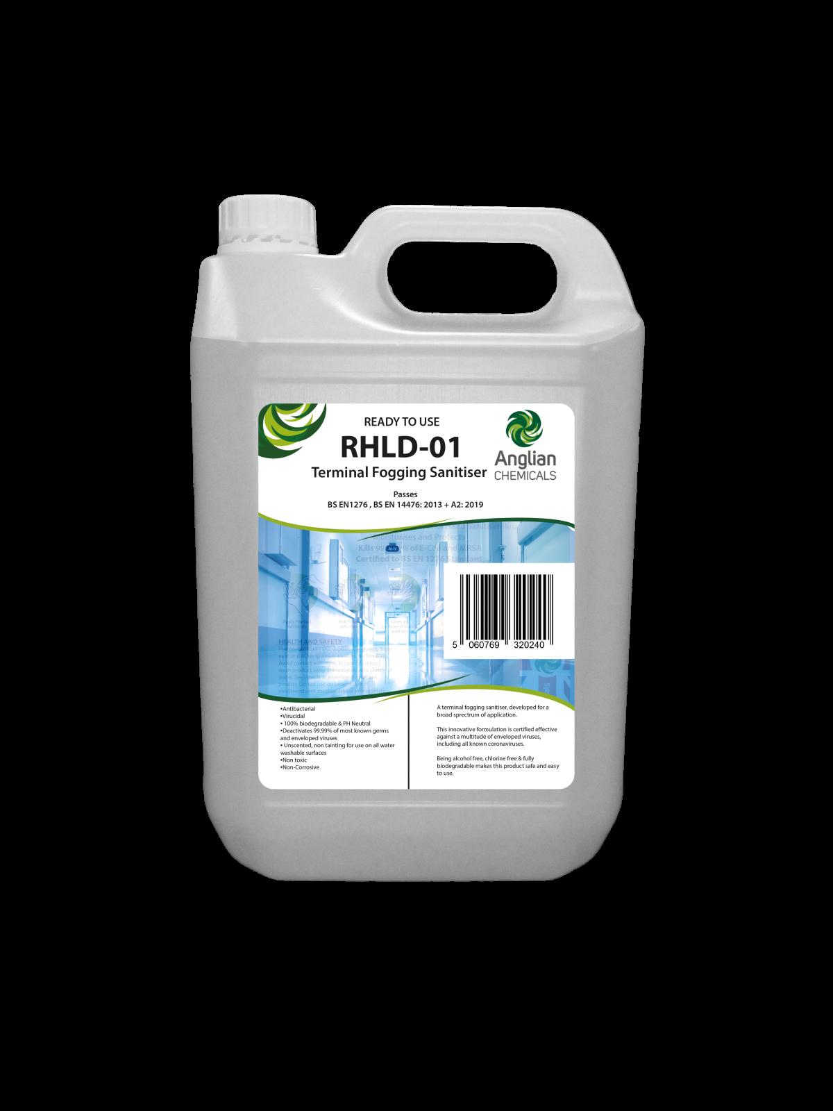 RHLD-01 Terminal Fogging Sanitiser