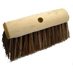 Stiff yard broom