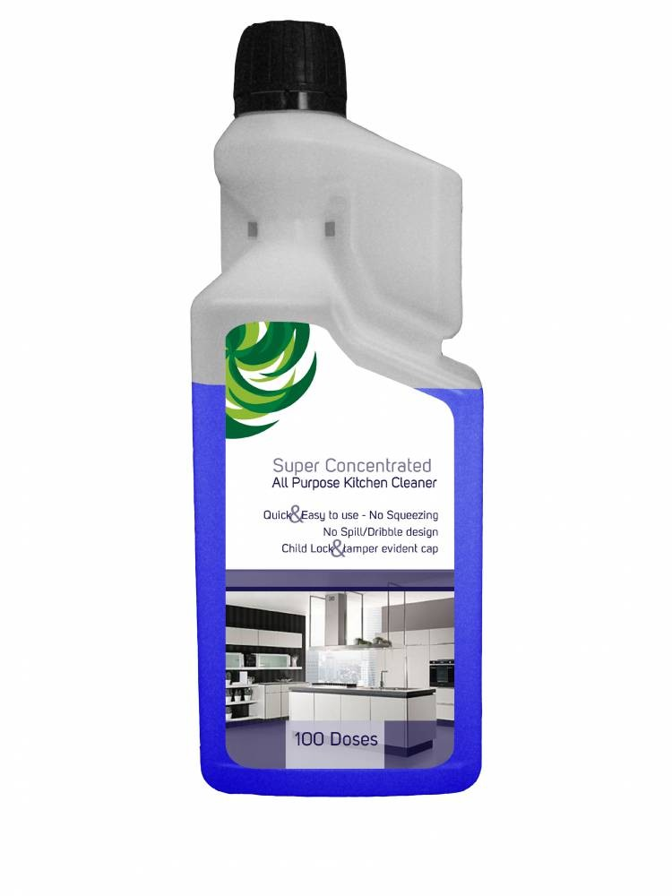 Super Concentrated All purpose kitchen degreaser