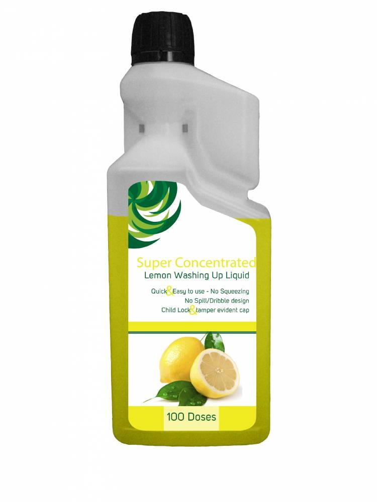 Super Concentrated Lemon Washing up liquid