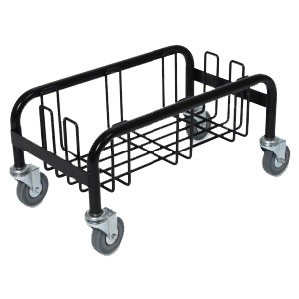Wall hugger single trolley