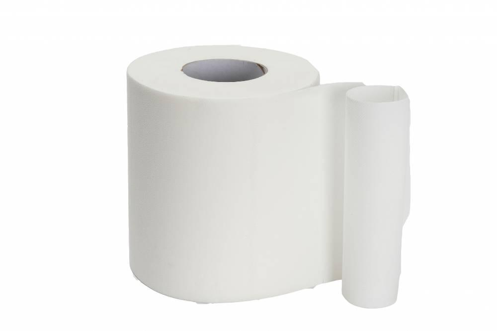 White 1 Ply Centre Feed - Pure