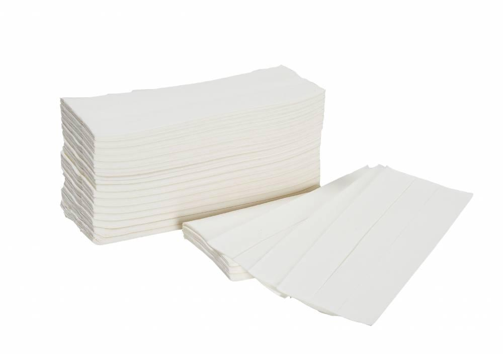 White 1 Ply Hand Towel