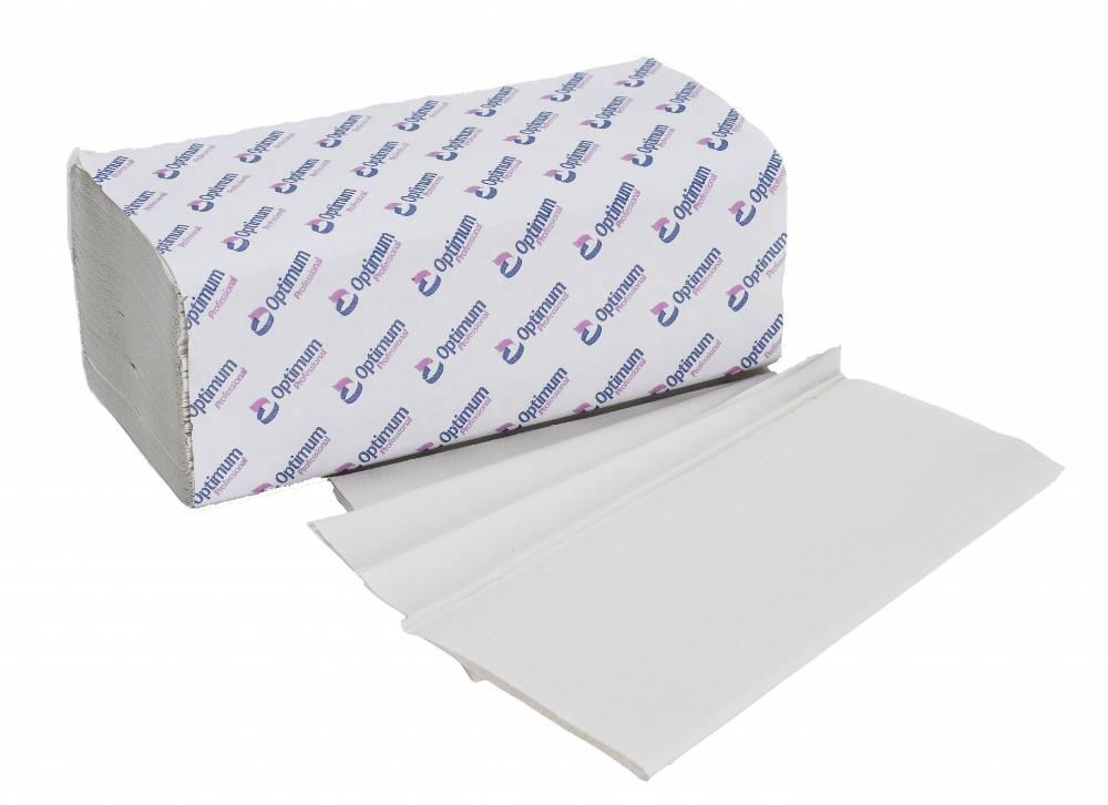 White 1 Ply Interfold Hand Towel