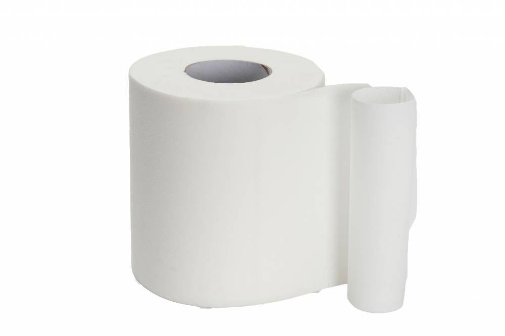 White 2 Ply Centre Feed - Recycled