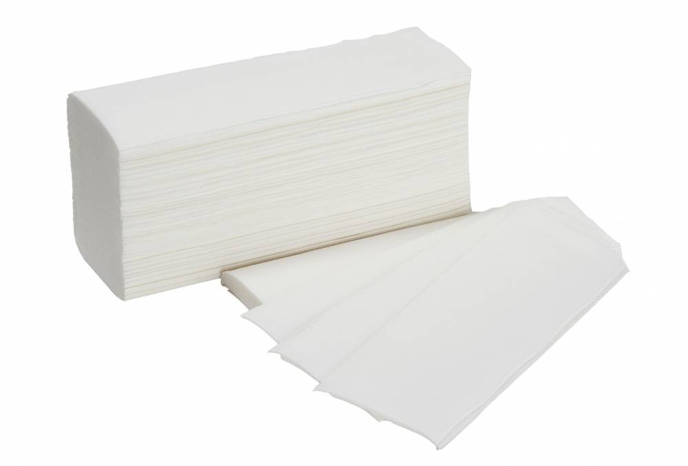 White 2 Ply Z-Fold Hand Towel