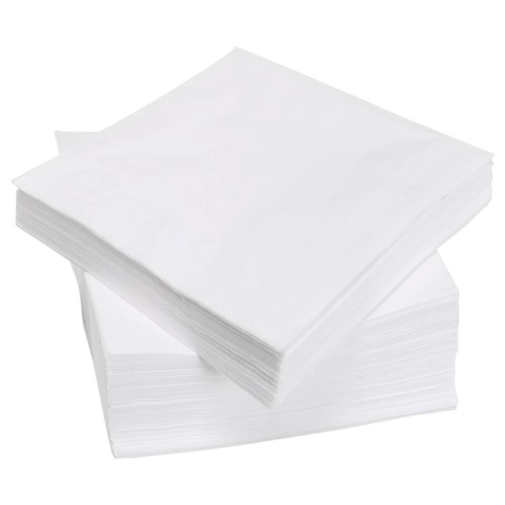 White - Pre folded napkin 3 ply
