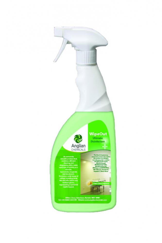 Wipeout Ultimate Disinfectant Ready To Use Washroom